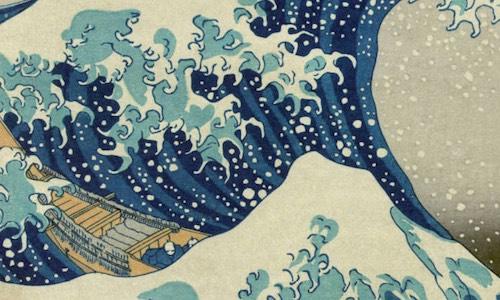 A Grande Onda do Bonsai de Kanagawa